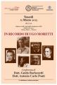 In ricordo di Ugo Moretti