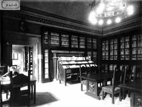 La storica Biblioteca Comunale Luigi Fumi