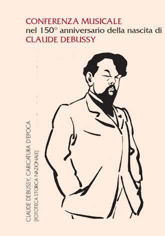 Caricatura Claude Debussy