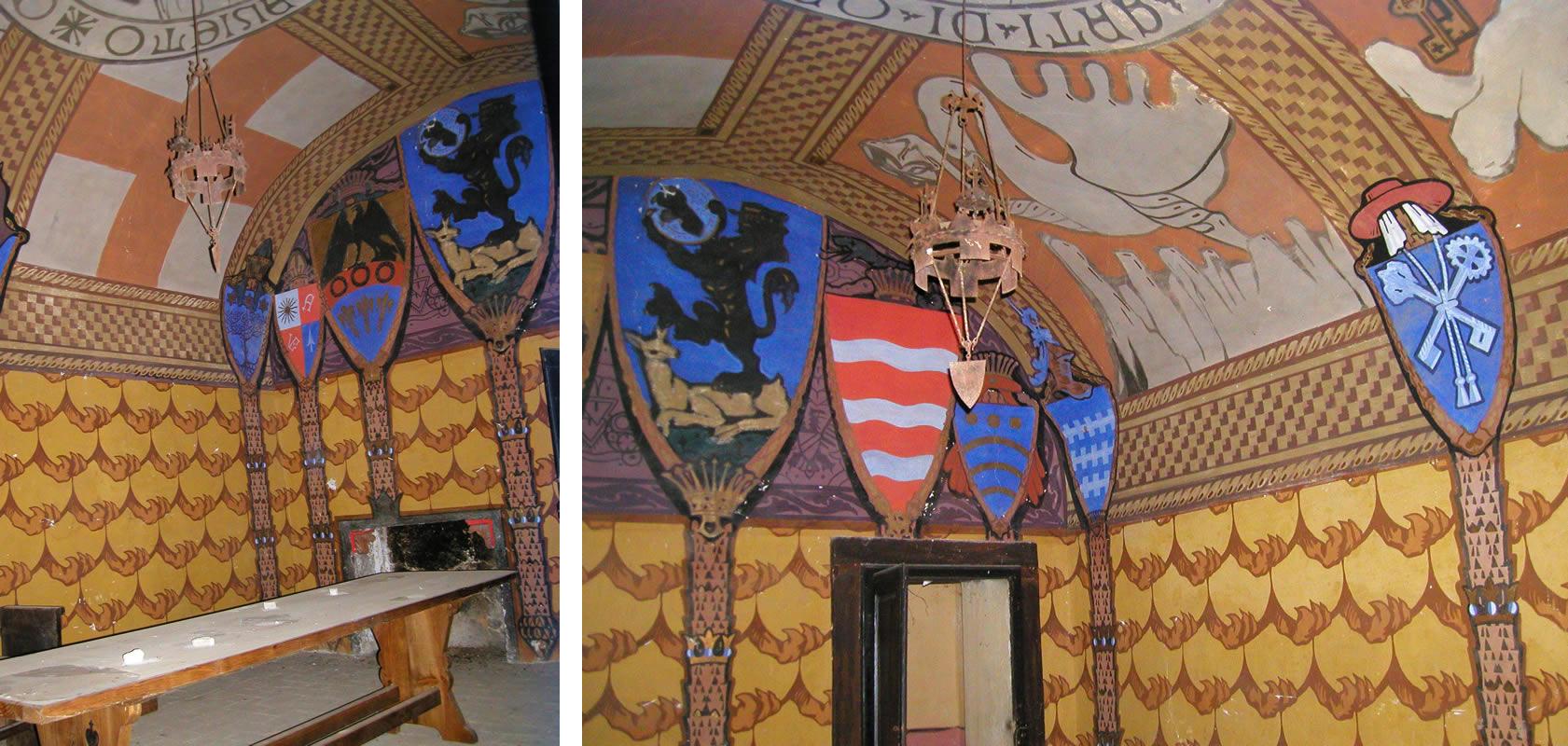 ISAO - dipinto al soffitto