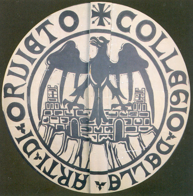 ISAO - stemma sul soffitto